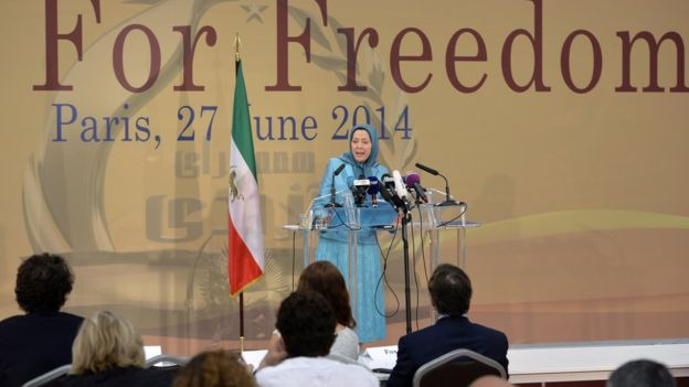 maryam rajavi saddam private army