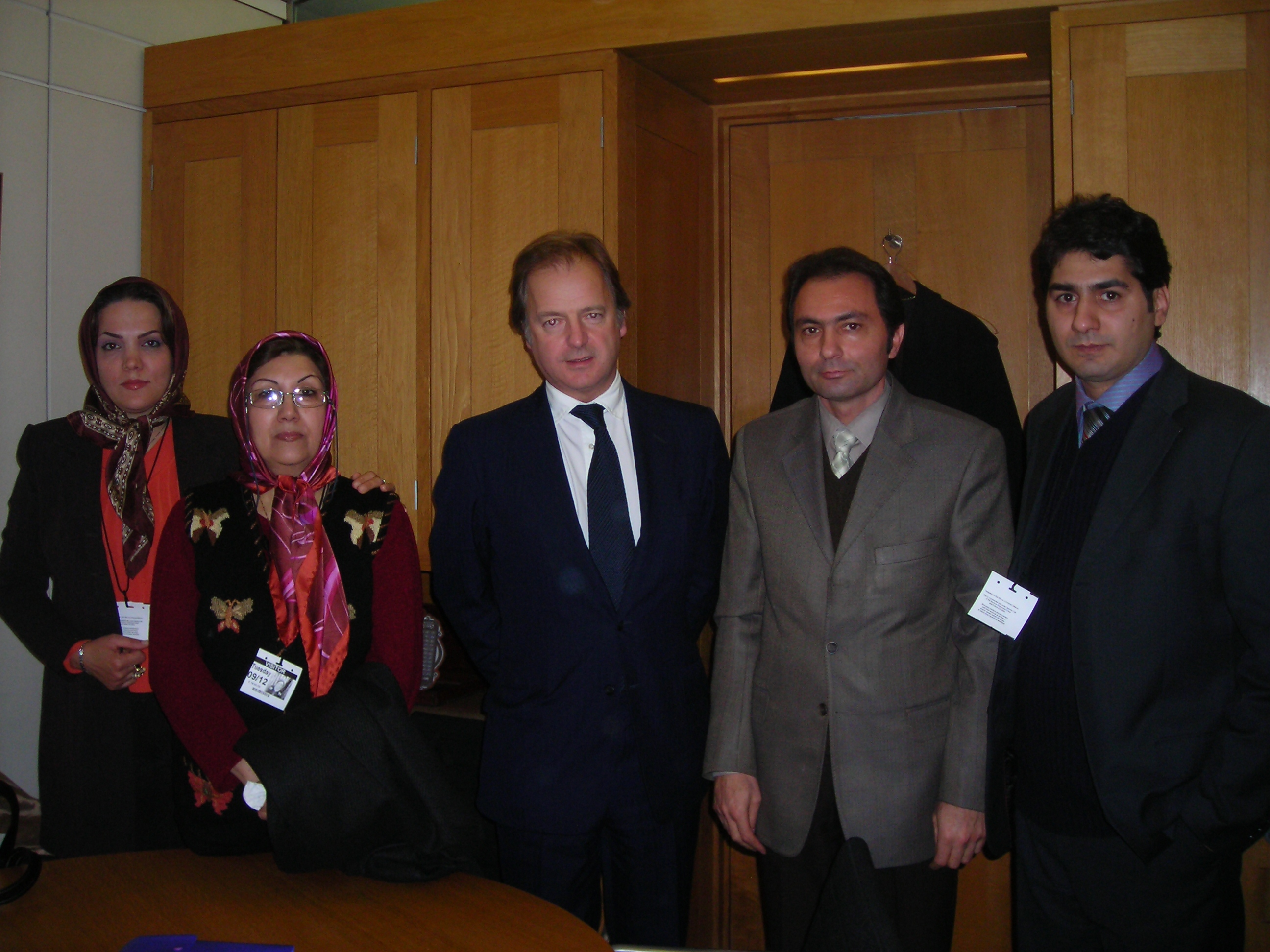 Mrs. Mahnaz Akafian, UK Parliament 2008 Support Iraqi Government Plans for Camp Ashraf Victims