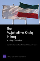 New document on Mojahedin Khalq released by RAND (The Mujahedin-e Khalq in Iraq, A Policy Conundrum)