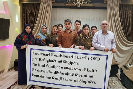 MEK Hostages Families Demand Albanian PM Respond