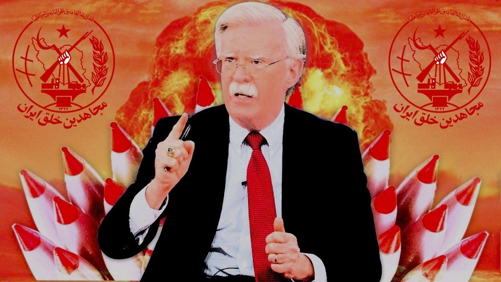 Bolton's Plans For A False Flag Op Involving MEK Are Already Underway MKO Saudi colluded over Tanker Attack