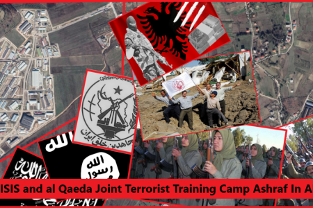 Camp Ashraf 3. Rajavi cult, ISIS , Al Qaeda Joint Terrorist Training Camp
