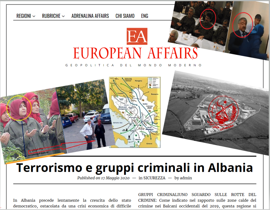 Criminals And Terrorists In Albania