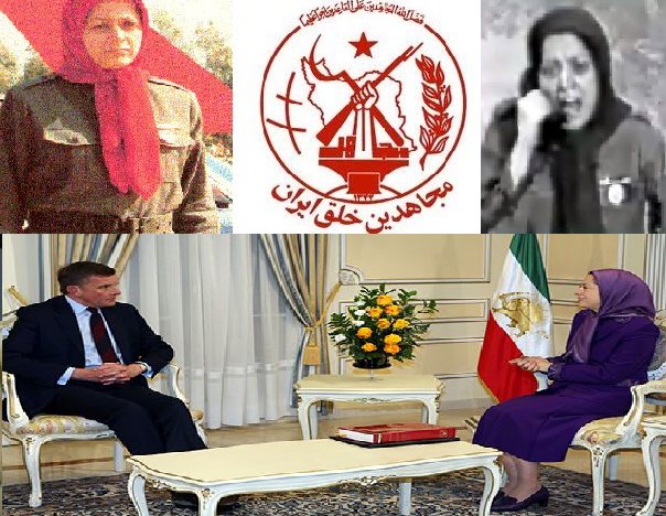 David Jones MP and Maryam Rajavi promoting Mojahedin Khalq (Saddam's Private Army)