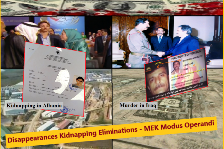 Disappearances Kidnapping Eliminations - MEK Modus Operandi
