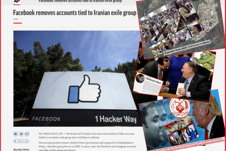 Facebook Removes Mujahedin-e-Khalq MEK Troll Accounts