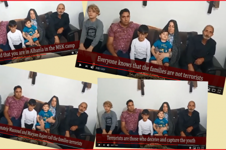 Families Of Mujahedin-e Khalq (MEK or Rajavi Cult) Members In Albania Cry For Help (2)