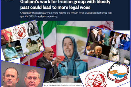 MEK Terrorists And UANI CEO Rudy Giuliani