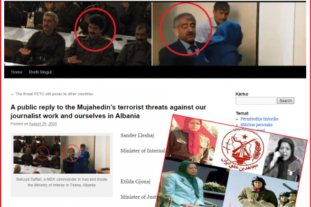 Gjergji Thanasi Olsi Jazexhi Ask For Protection Against Mujahedin Terrorists In Albania