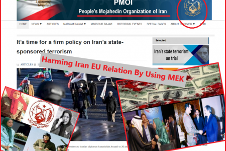 Harming Iran EU Relation By Using MEK