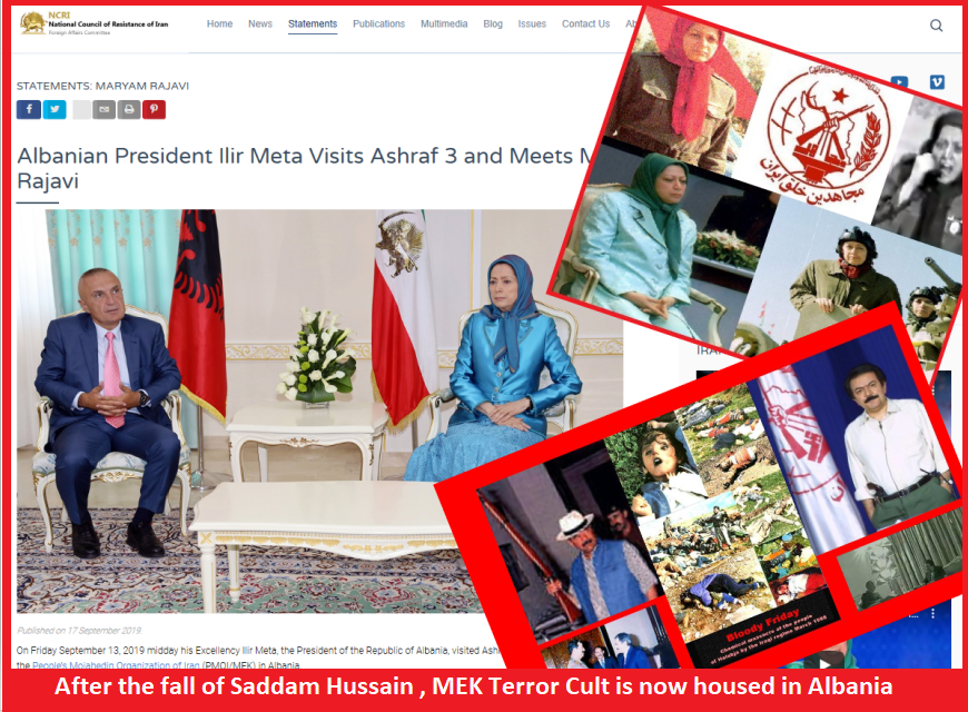 I can buy Albanian President for a thousand dollars; Maryam Rajavi