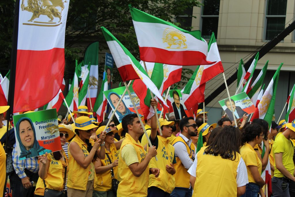 Iranian MEK from US terror list to halls of Congress