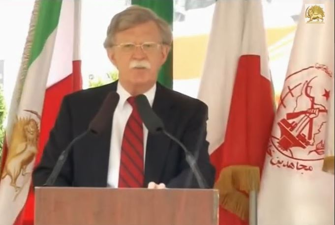 John Bolton has his own proxy force in MEK (Maryam Rajavi cult)