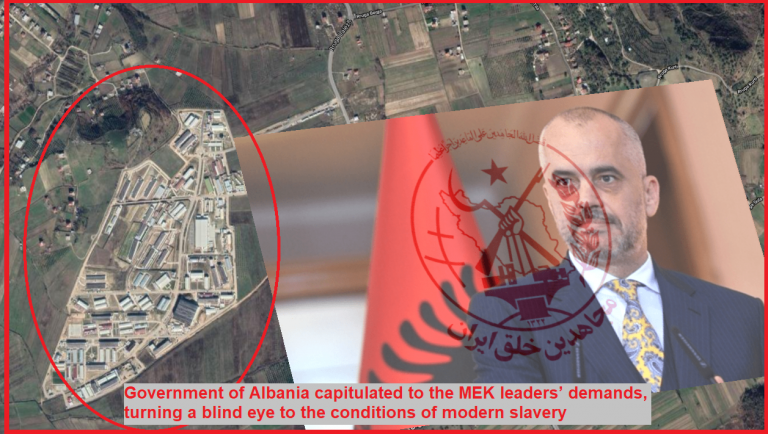 MEK Families Petition Addressing Albanian PM 1