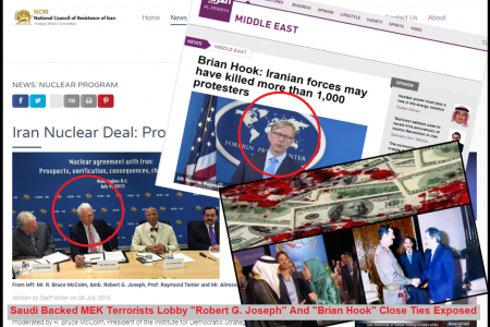 MEK Feeds Brian Hook Though Their Lobbyist Robert G. Joseph - Rajavi Reacts to Petition