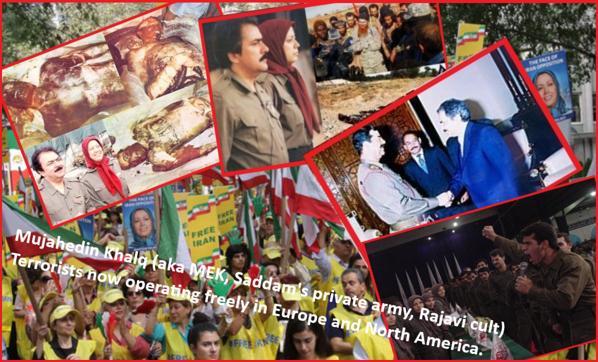 MEK Maryam Rajavi Saddam Private Army