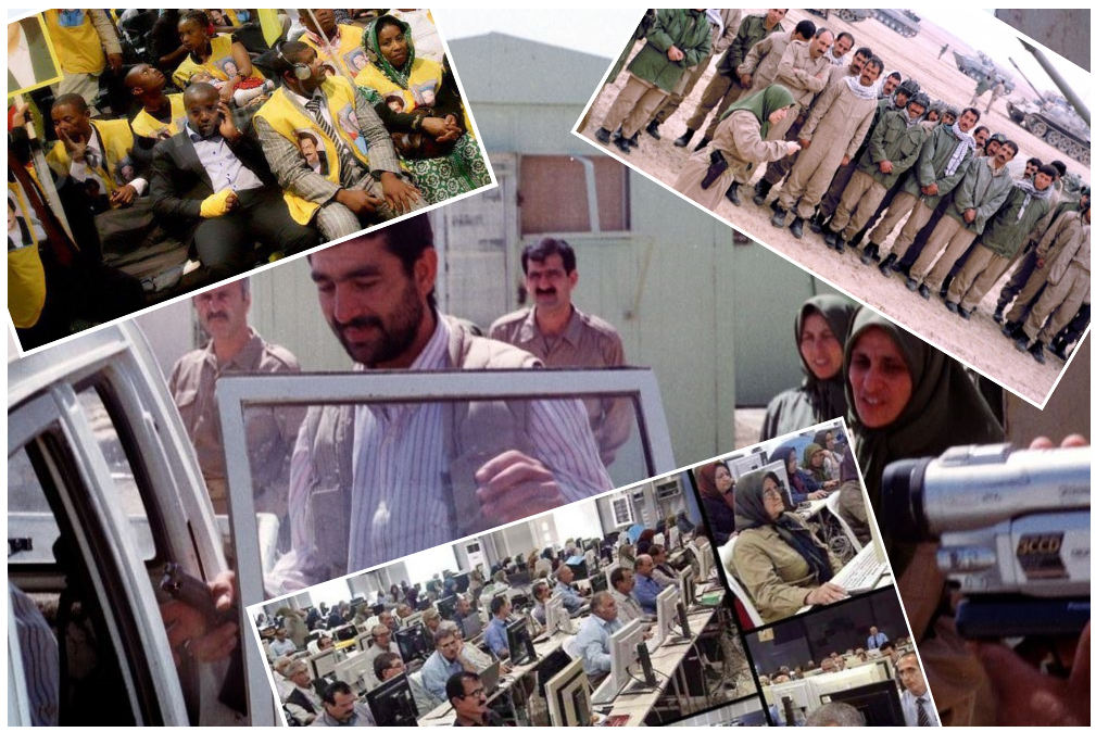 MEK Rajavi Cult Terrorists US Mercenaries Turned Click Farmers