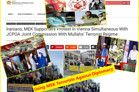 MEK Terrorists Against Diplomacy