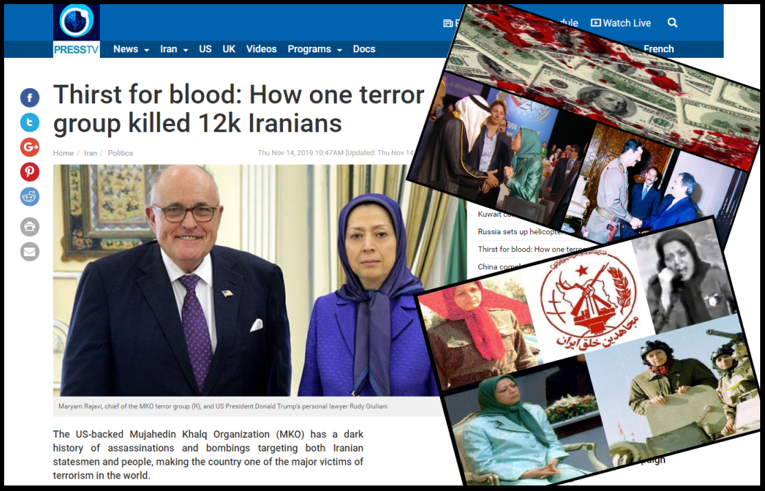 MEK Thirst for blood : How one terror group killed 12k Iranians