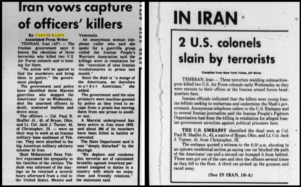 MEK Assassinated Americans