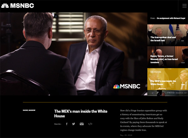 MSNBC_Massoud_Khodabandeh The MEK's man inside the White House
