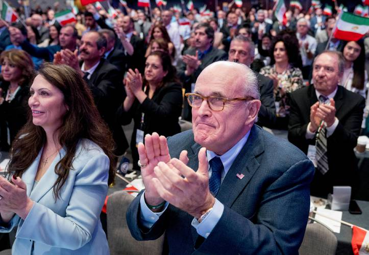 Maria Ryan Rudy Giuliani and Saudi Paid MEK Terrorists in Albania