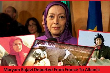 Maryam Rajavi Deported From France To Albania