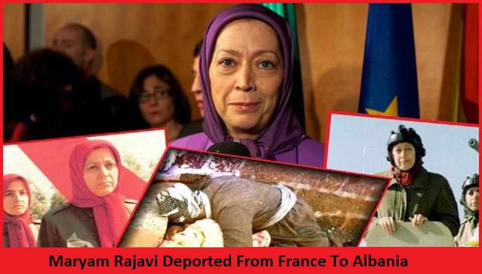 After Being Deported From EU, Maryam Rajavi Threatens Albanians
