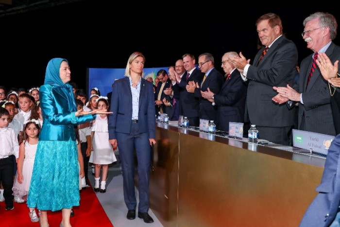 Maryam Rajavi Mojahedin Khalq (MEK) in Albania security risk
