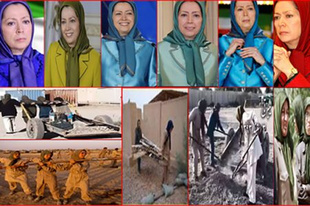Maryam Rajavi Saddam Mercenary