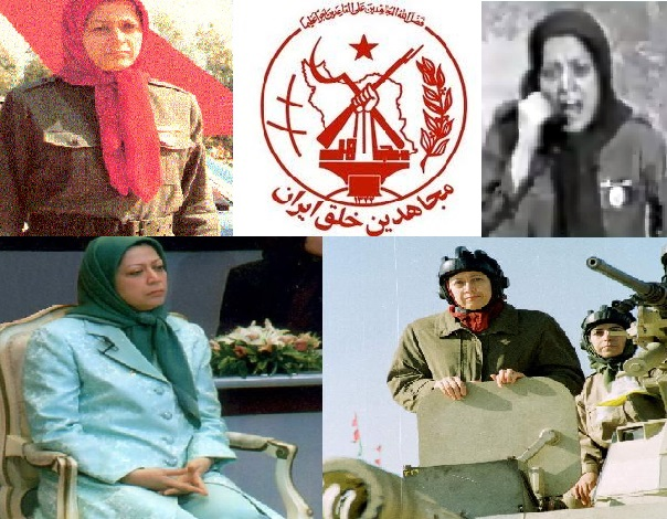 Maryam Rajavi Saddam's private army NCRI MEK Iran