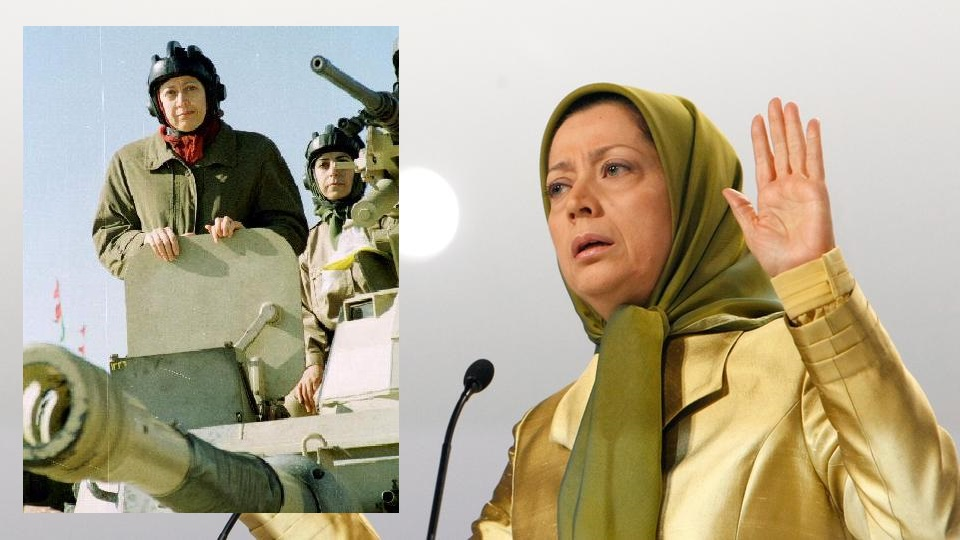 US Supported MEK Terrorists Maryam Rajavi