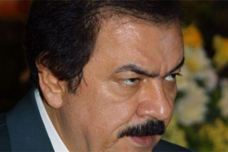 Massoud Rajavi Saddam private army
