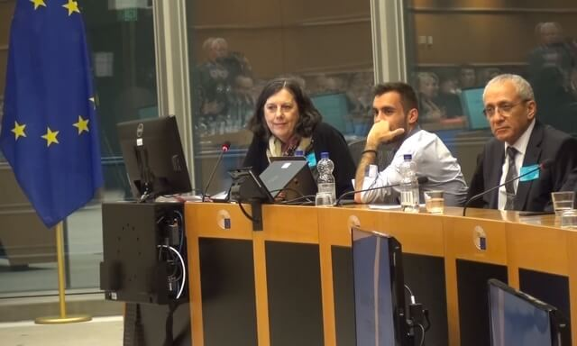 Massoud Khdabandeh Anne Singleton European Parliament