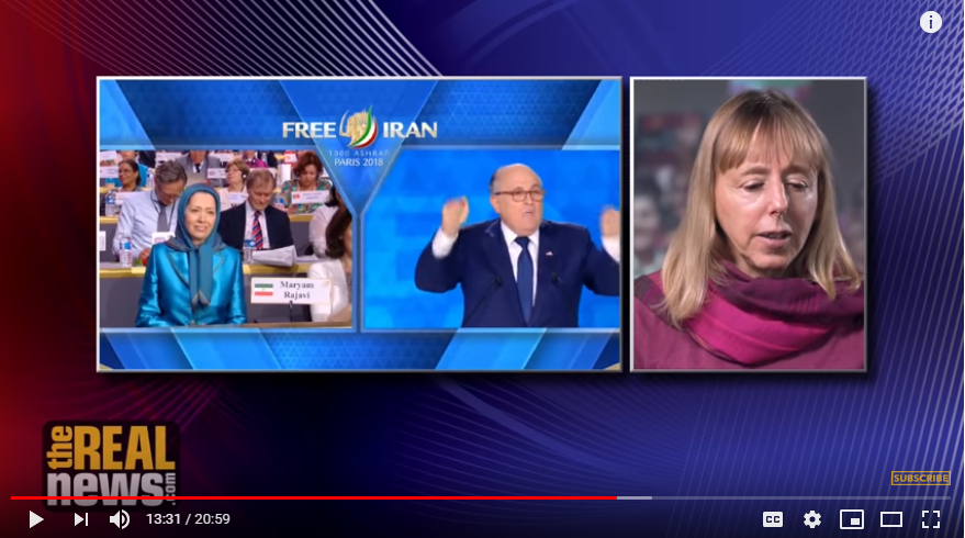 Medea_Benjamin_CODEPINK_MEK_Maryam_Rajavi_Have_No_Support_In_Iran