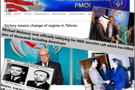 Giuliani work for MEK with bloody past