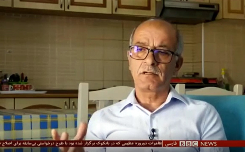 Mirzaei-Gholamali-BBC Denied rights of families of MEK members
