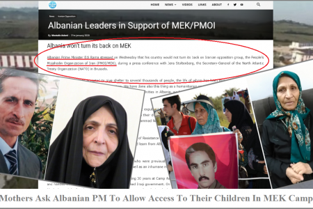 Mothers Ask Albanian PM To Allow Access To Their Children In MEK Camp