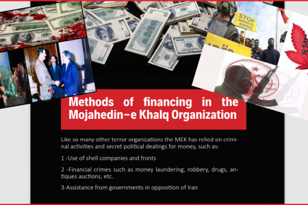Mujahedin-e-Khalq MEK Financial Corruption