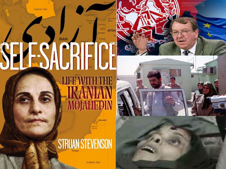"Struan Stevenson's book ""Self Sacrifice"" ordered by Maryam Rajavi glorifies MEK Terrorists"