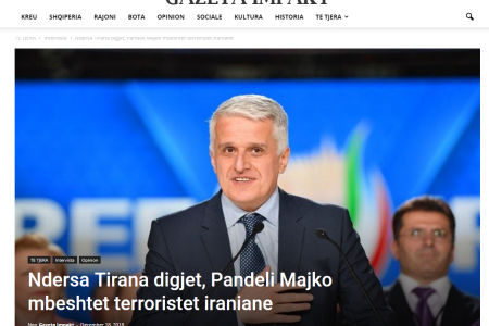 Spiegel: MKO (MEK IRAN) members in Albania receive horrific training
