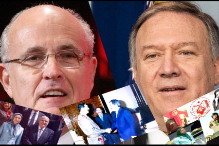 Pompeo Giuliani MEK Terrorism - Rajavi Reacts to Petition