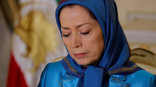 Maryam Rajavi is the acting leader of the People's Mujahedin. Her husband has not been seen since 2003