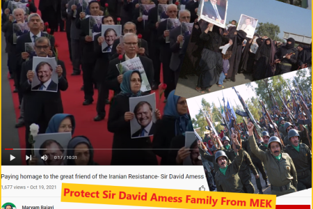 Protect Sir David Amess Family From MEK