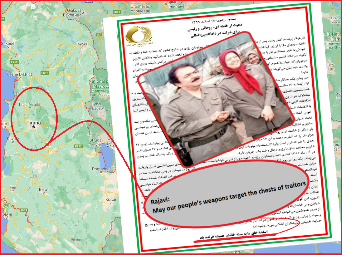 Rajavi To Assassinate Witnesses From Albania