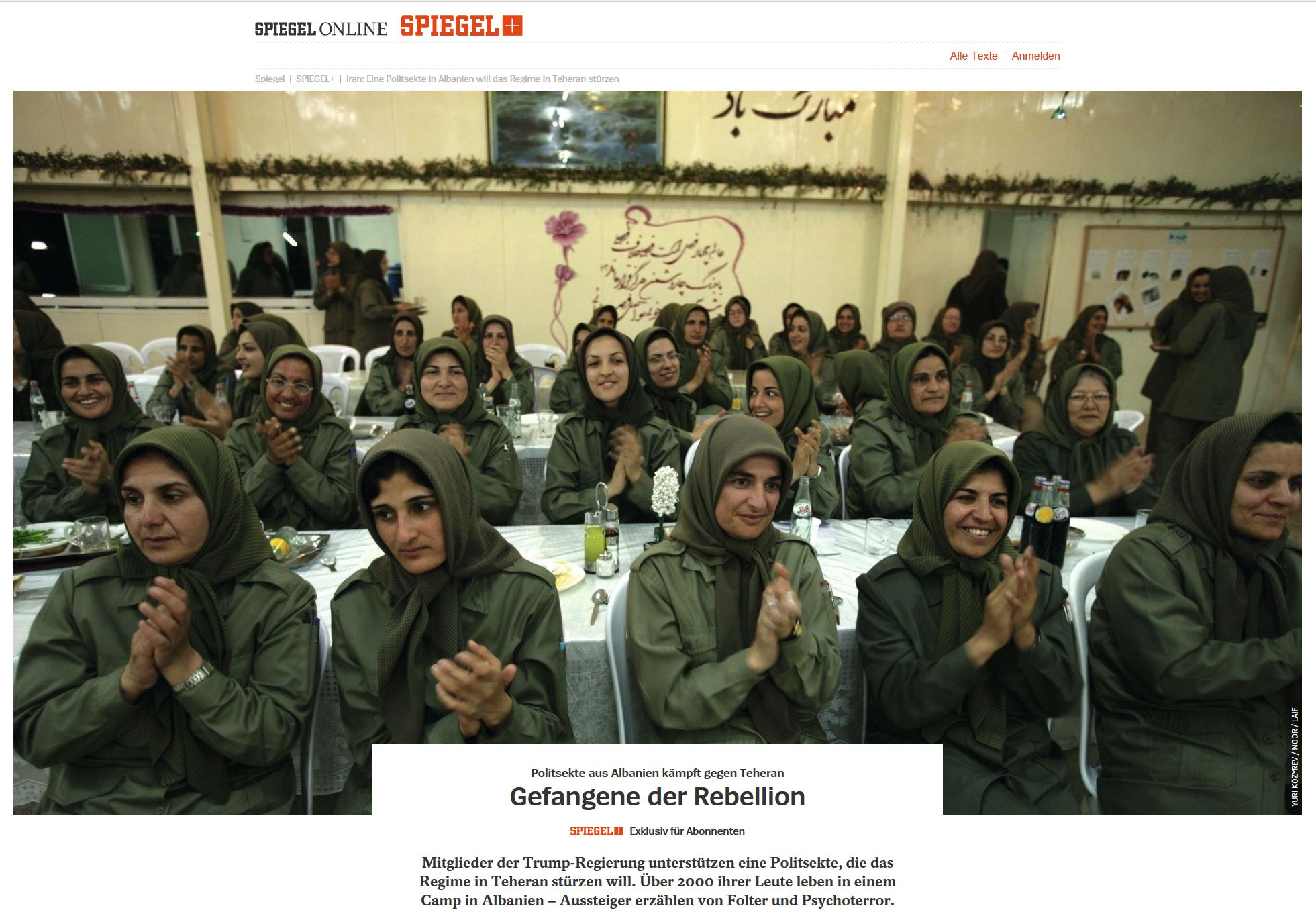 Spiegel_MKO_MEK_Rajavi_Cult_in_Albania_horrific_training MEK leaders