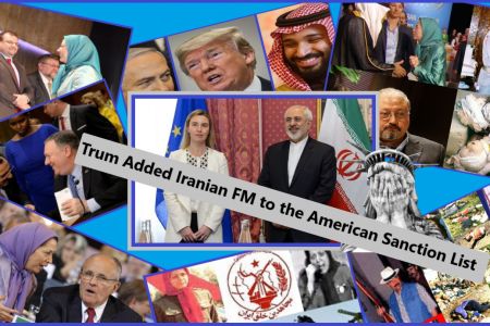 Supporting MKO Terrorist Cult , Bombing Iraq , Blacklisting Iranian FM