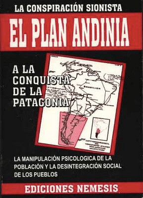 The Andinia Plan conspiracy theory Mossad info, MEK sources