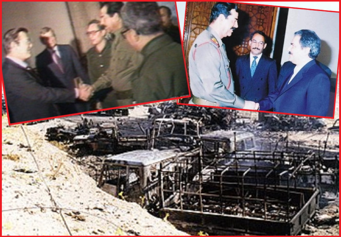 Banisadr opposed the fact that Rajavi moved to Saddam Hussain camp