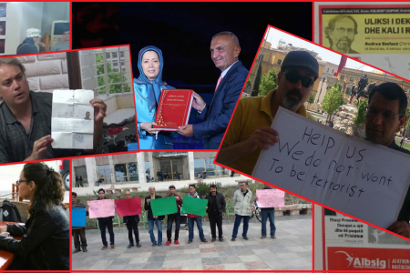 Victims of MEK crimes in Albania appeal to President Meta